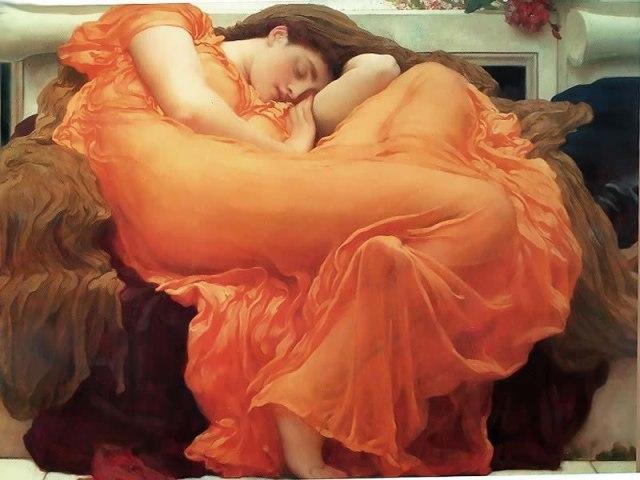 """Sol ardiente de junio"", Frederic Leighton"