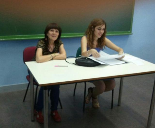 Recital poético el 12 de junio de 2013 en el Centro cultural Paco Rabal. Con Maribel Alonso, de Poekas