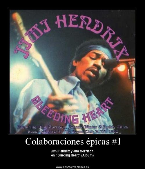 "Portada de ""Bleeding Heart"" de Jimi Hendrix"