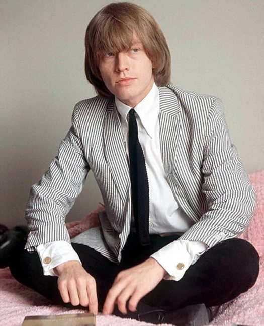 Brian Jones, líder de The Rolling Stones hasta 1969