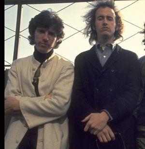 John Densmore y Robby Krieger en la época de The Doors