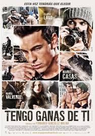 Cartel de la película de 2012 Tengo ganas de ti