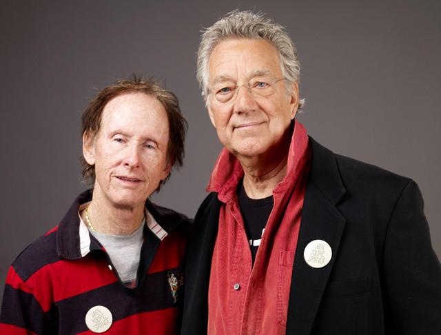 Robby Krieger y Ray Manzarek en 2004