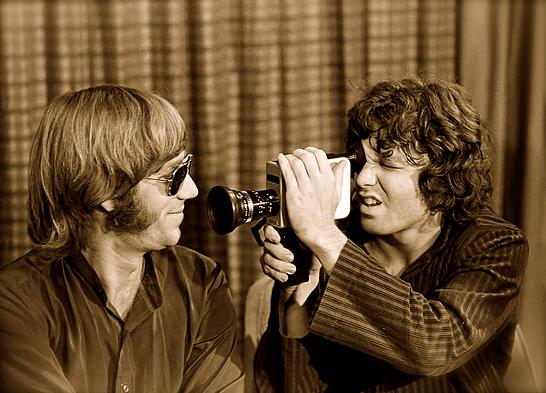 Ray Manzarek y Jim Morrison estudiaron juntos Cine en la UCLA