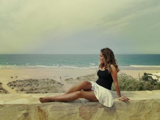 Frente a la playa de Conil, agosto de 2012