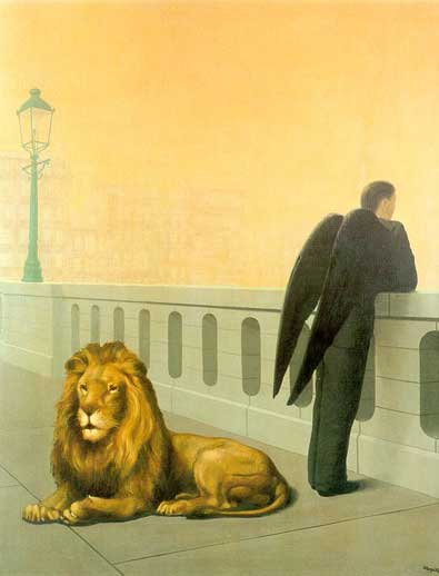 """""""El mal de la ausencia"""", René Magritte"""