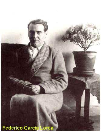 Federico García Lorca en 1936