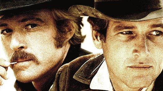 Robert Redford y Paul Newman en Dos hombres y un destino, 1969