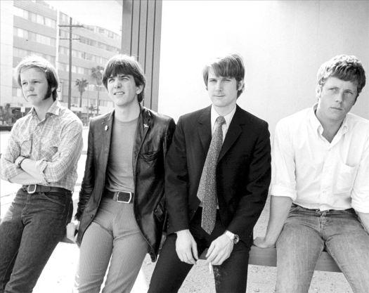 The Byrds en 1968. Gram Parsons es el segundo por la izquierda