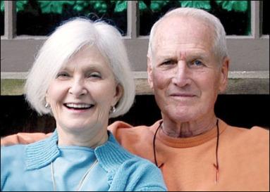 Joanne Woodward y Paul Newman