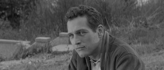 Paul Newman en El buscavidas, 1961