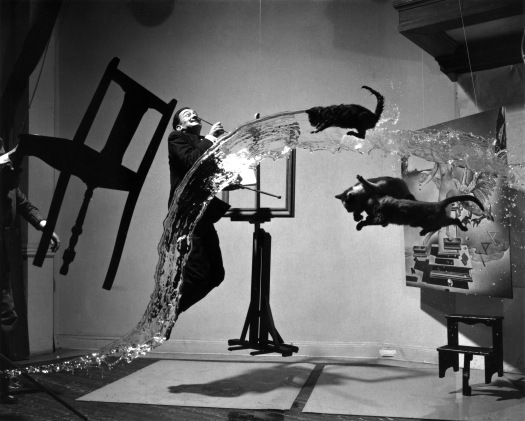 """Dalí Atomicus"", Phiippe Halsman, 1948"
