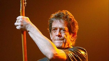 El músico Lou Reed