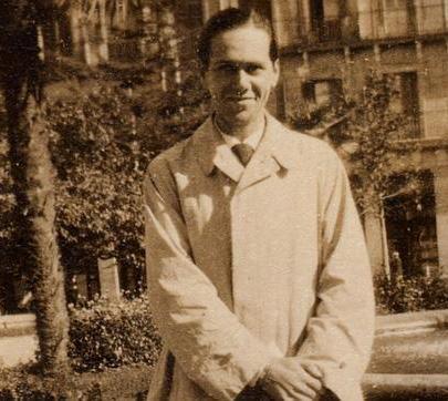 El poeta Luis Cernuda en 1928