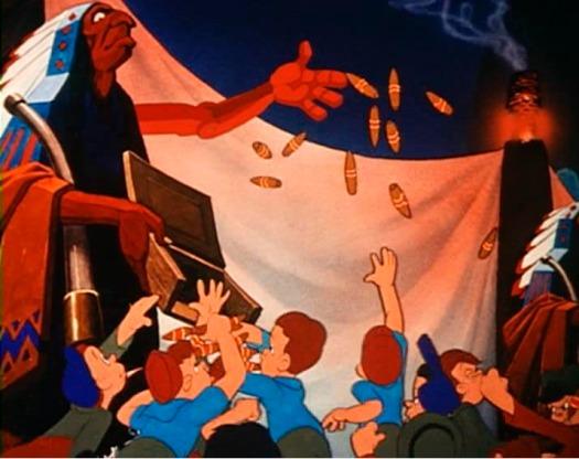 Fotograma de la película Pinocho (1940), de Walt Disney