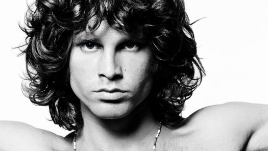 Jim Morrison en 1967, foto de Joel Brodsky