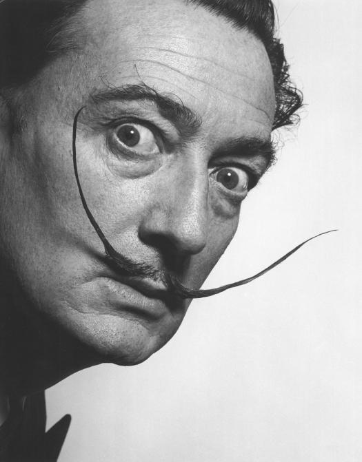 Salvador Dalí en los años 50