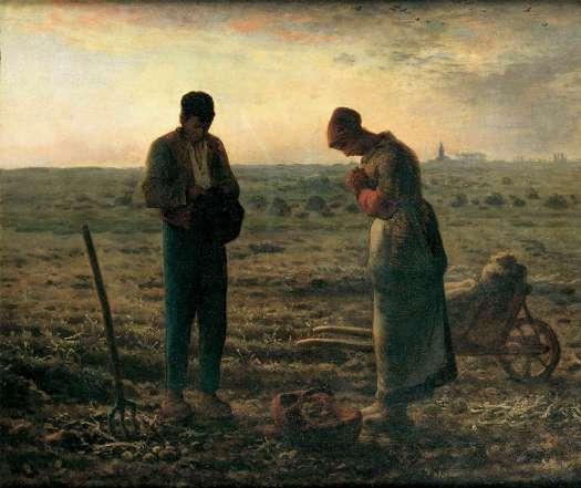 """""""El Ángelus"""", Jean-François Millet"""