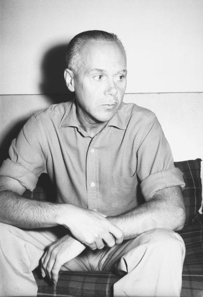 El poeta Luis Cernuda en su exilio mexicano