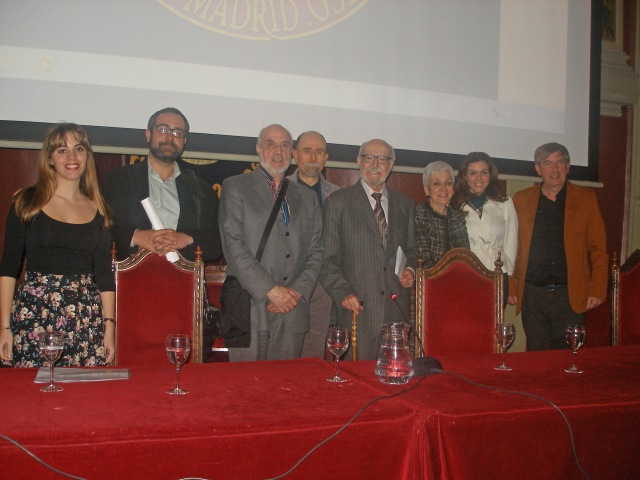 Algunos participantes del acto