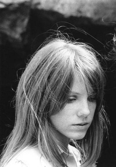 Pamela Courson en 1970