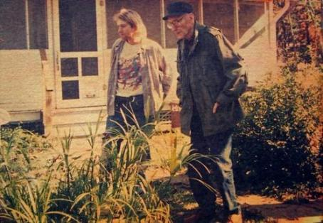 Kurt Cobain y William S. Burroughs en octubre de 1993