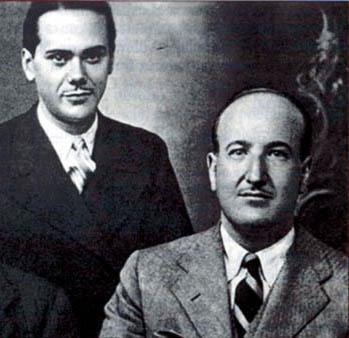 Luis Cernuda y Vicente Aleixandre