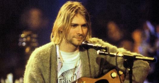 Kurt Cobain en los 90