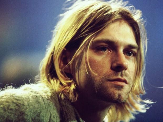 Kurt Cobain en los noventa