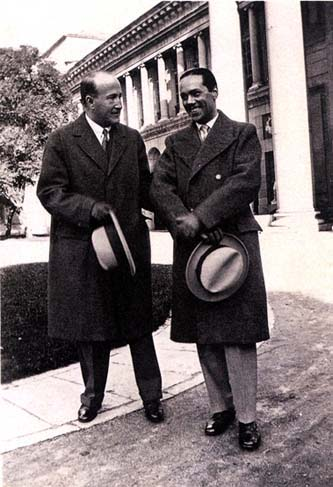 Vicente Aleixandre y Luis Cernuda en 1927