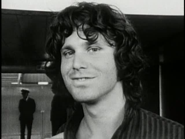 Jim Morrison en los sesenta