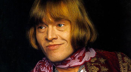 Brian Jones, primer líder de The Rolling Stones, fallecido en 1969