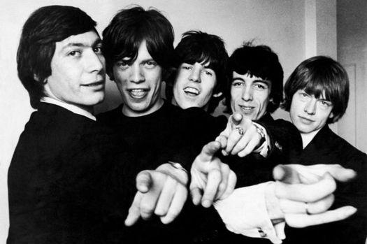 The Rolling Stones en los sesenta