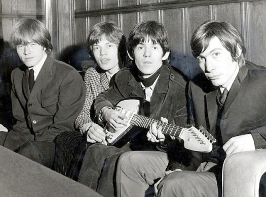 The Rolling Stones en los sesenta. De izquierda a derecha: Brian Jones, Mick Jagger, Keith Richards y Charlie Watts