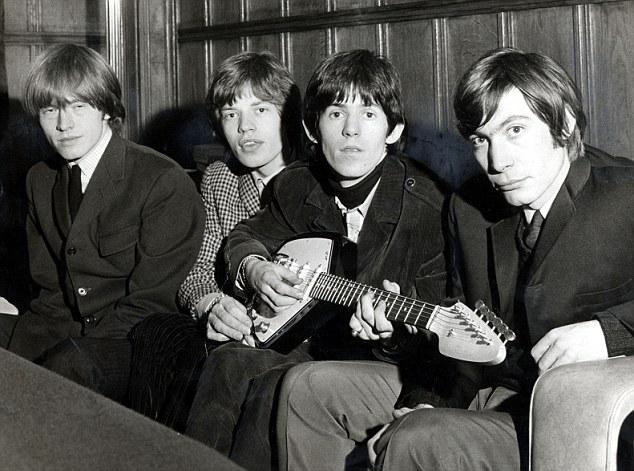 The Rolling Stones en los sesenta. De izquierda a derecha: Brian Jones, Mick Jagger, Keith Richards y Charlie Watts