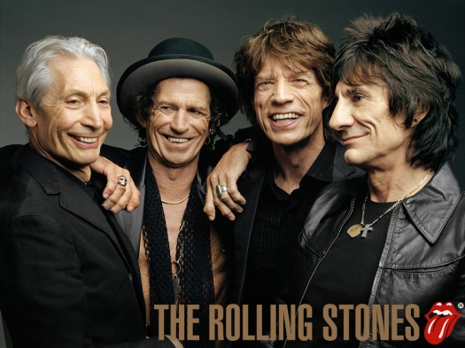 The Rolling Stones, rockeros septuagenarios