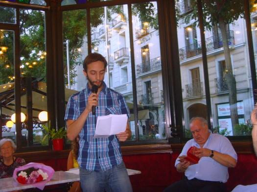 El poeta Guillermo Pavón