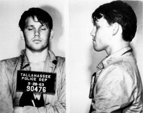 Jim Morrison, detenido en 1963