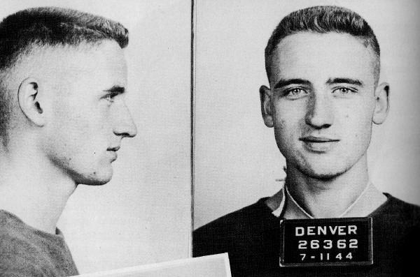 Neal Cassady -Dean Moriarty- detenido en 1944