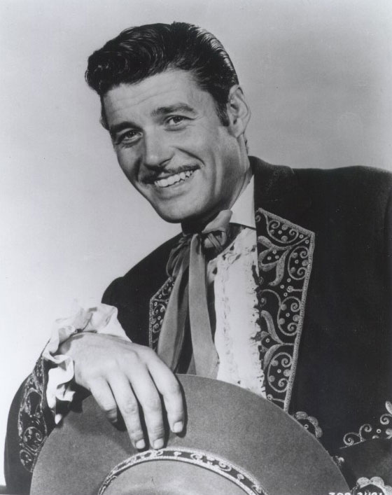 Guy Williams interpretando a Don Diego de la Vega