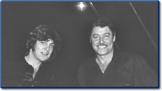 Guy Williams y Fernando Lúpiz en los setenta