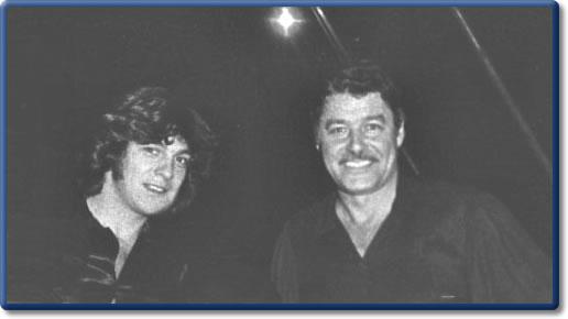 Guy Williams y Fernando Lúpiz en los setenta