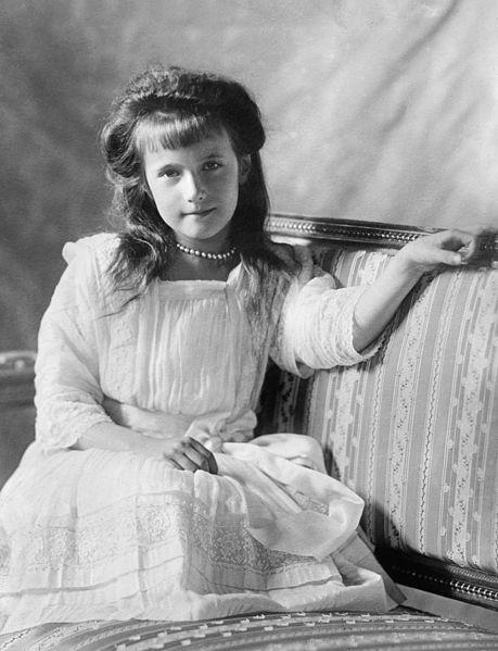 Anastasia Romanov en 1913