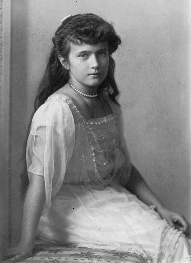 Anastasia Romanov en torno a 1915