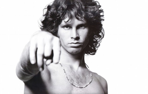Jim Morrison retratado por Joel Brodsky