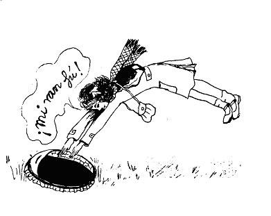 Ilustración de Caperucita en Manhattan, de Carmen Martín Gaite