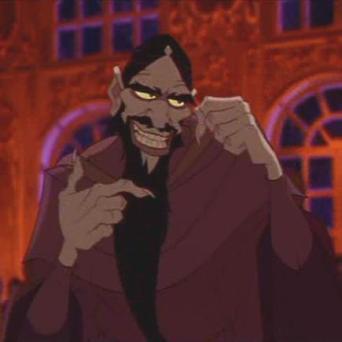 Rasputín en la película de Bluth y Goldman
