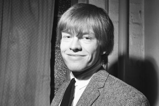 Brian Jones, fundador de The Rolling Stones, en los sesenta