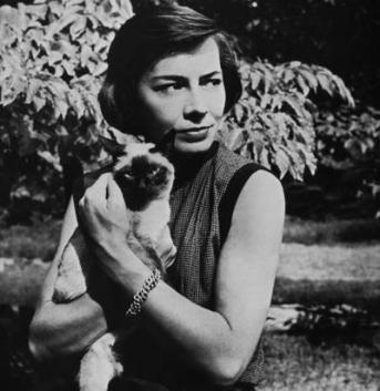 La escritora Patricia Highsmith