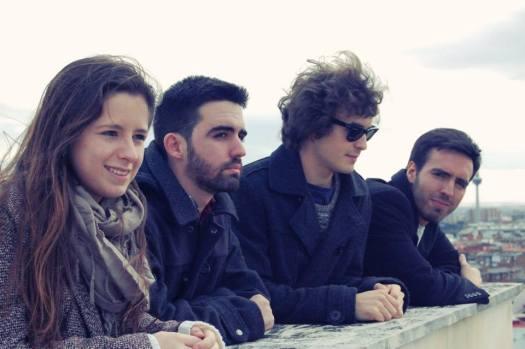 Laura, Juan, Julio y Álvaro, miembros de The Vagus Group